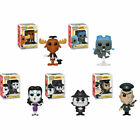 Funko 5pc ROCKY BULLWINKLE POP SET with Boris - Natasha - Fearless Leader MINT!