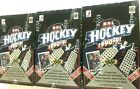 1990-91 UPPER DECK HIGH SERIES HOCKEY BOXES ( 3 BOX LOT )