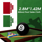 Professional Worsted Billiard Pool Table Cloth Felt Mat Cover For 8 9Ft Table