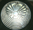 1 1 4 MAN IN THE MAZE STERLING NATIVE AMERICAN BROOCH PIN