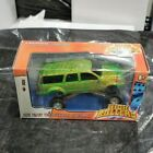 TOY ZONE High Rollers Diecast 1 43 Ford Excurion Green with Spider Web design