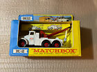 Vintage Lesney Matchbox KING SIZE K 2 Scammell Heavy Wreck Truck In Box