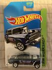 2014 Hot Wheels Super Treasure Hunt 1955 Chevrolet Bel Air Gasser HW Workshop