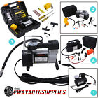 HEAVY DUTY 12V Portable Car Air Compressor Pump Tire Inflator Auto Tyre 150PSI