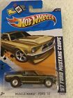 2011 Redline Realrider hot wheels Muscle Mania Ford 12 1967 Ford Mustang