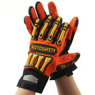 Heavy Duty Safety Rescue Glove High-vis Resistant Reducing Anti-impact Mechanics