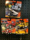 Matchbox Working Rigs Mobile Crane Road Grader And Attenuator Truck lot of 3