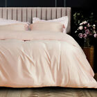Silky Satin 3 Pieces Duvet Cover Set 1800 Bedding Egyptian Quality Duvet Covers