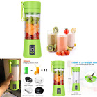 Portable Blender Mini Juicer Cup USB Rechargeable Handheld Smoothies Shake 380ml