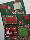 Christmas 12x12 Dimensional Premade Scrapbook Pages