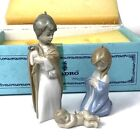 Lladro Nativity Christmas Tree 3 Ornaments Mini Sagrada Family Jesus Mary Joseph
