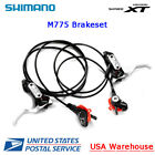 Shimano Deore XT BL BR M775 Hydraulic Disc Brake set Front + Rear MTB