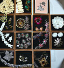 ESTATE LOT VINTAGE HIGH END JEWELRY SIGNED SETS WEISS JULIANA RHINESTONE ETC