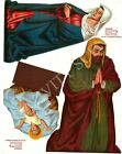 Douglas Fir Plywood Digital Patterns 1956 Nativity Scene Set