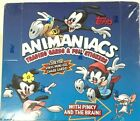 1995 TOPPS ANIMANIACS WITH PINKEY& THE BRAIN TRADING CARD & FOIL STICKER BOX