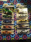 Hot Wheels 2016 Ford Mustang Lot Ford Performance Complete 1 through 8 set