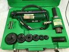 Greenlee 7306 Hydraulic Knockout Knock Out Punch Driver Set 7306SB