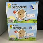 Lot Of 2 Toysmith Build  Paint A Bird House Kit Includes Everything You Need