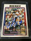 R.A. Dickey Rookie Cards and Autograph Memorabilia Guide 13