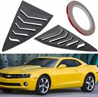 2pcs Side Window Louvers Sun Shade Windshield Cover for 2010 2015 Chevy Camaro