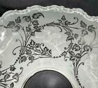 1800 Antique Acid Etched  Embossed SHADE Gas Oil Banquet Lamp CUPIDS 4 Fitter