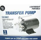 Portable Mini Electric Water Transfer Utility Sump Pump 330 GPH 115 Volt with
