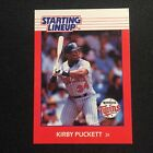 1988 Starting Lineup Card KIRBY PUCKET TWINS #34