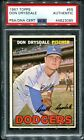 Don Drysdale Cards and Autographed Memorabilia Guide 40