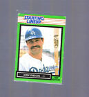 1989  KIRK GIBSON - Kenner Starting Lineup Card - LOS ANGELES DODGERS