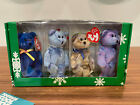 TY BEANIE BABIES  THE JINGLE COLLECTION CHRISTMAS CLUBBY EDITION HAPPY HOLIDAYS