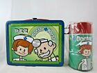 Bosley Boxes PEZ Doctor Nurse Metal Lunchbox With Thermos 2002 New With Tags