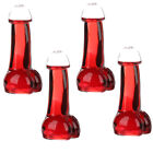 4x Penis Shaped High Strength Crystal Wine Glass Cup Glasses Party Drinking Bar