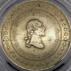 1880S GEORGE WASHINGTON BIRTH  DEATH MEDAL DIE BREAKS