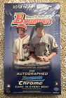 2012 Bowman Baseball Hobby Box FACTORY SEALED 1 AUTO PER BOX - Harper Rookie