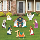 Big Dot of Happiness Holy Nativity Yard Sign and Outdoor Lawn Decorations Ma