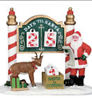 LEMAX Christmas Countdown Table Accent Porcelain Village Set Decor Town Advent