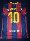 Leo Messi Signed Barcelona Autographed Jersey - Certified COA