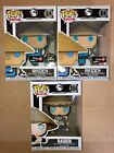 Funko Pop Mortal Kombat Raiden set of 3, Chase, Glow, Exclusive, with protectors