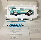 FRANKLIN MINT 1956 CHEVROLET CORVETTE 124 SCALE DIECAST CAR w box  docs