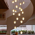 Modern Crystal Chandelier 14 Glass Bubble Ball Pendant Hanging Lighting Fixtures
