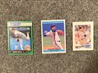 Frank Viola Lot of 3 cards 1988-1992 MN Twins Topps Donruss Starting Lineup
