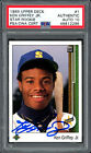 Ken Griffey Jr. Autographed 1989 Upper Deck Rookie Card Gem 10 Auto PSA 46812295