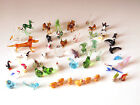 Large Collection of Blown Glass Animal Miniatures