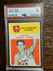 Jerry West Rookie Cards and Autographed Memorabilia Guide 9