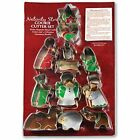 Nativity Story Set Of 12 Stainless Steel Cookie Cutter Kitchen amp Dining