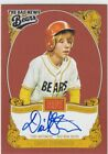 2013 David Stambaugh Panini Golden Age AUTO Autograph - DST Bad News Bears Toby