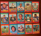 1971 Topps Football Cards 37