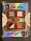 2020🔥Topps Sterling David Ortiz & Pedro Martinez 4 Patch AUTO! Redsox Autograph