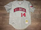 Authentic Mitchell and Ness M&N 1987 Minnesota Twins Kent Hrbek Jersey 44 L RARE