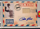 2010 Panini Century Collection Pete Rose Air Mail Bat Autograph #2 Serial 2 50